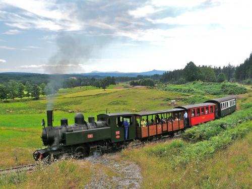 Balade en train avec le chemin de fer historique le velay express