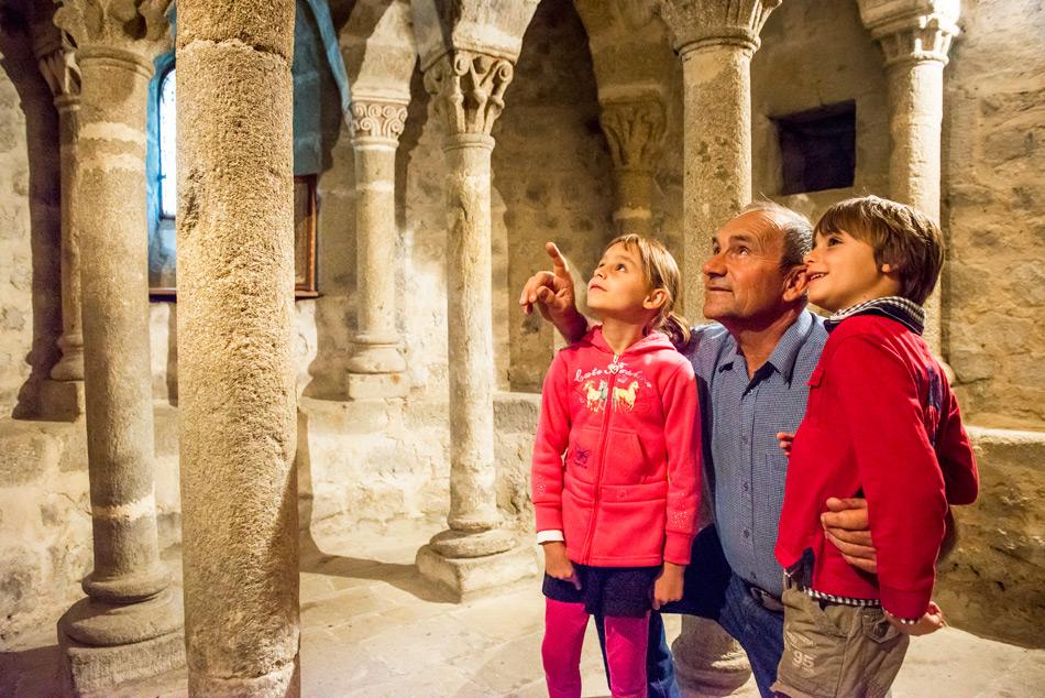 Visite crypte de Beauzac