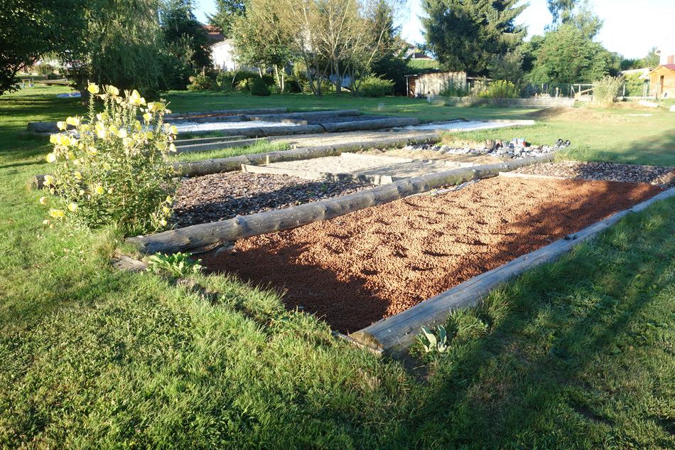 Jardin pieds-nus à Montfaucon