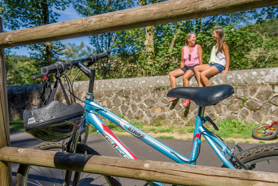 Location de vélos sur la Via Fluvia