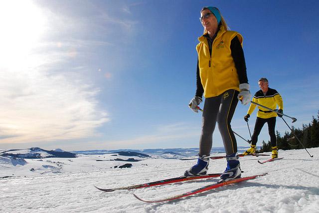 Ski de fond en Haute-Loire
