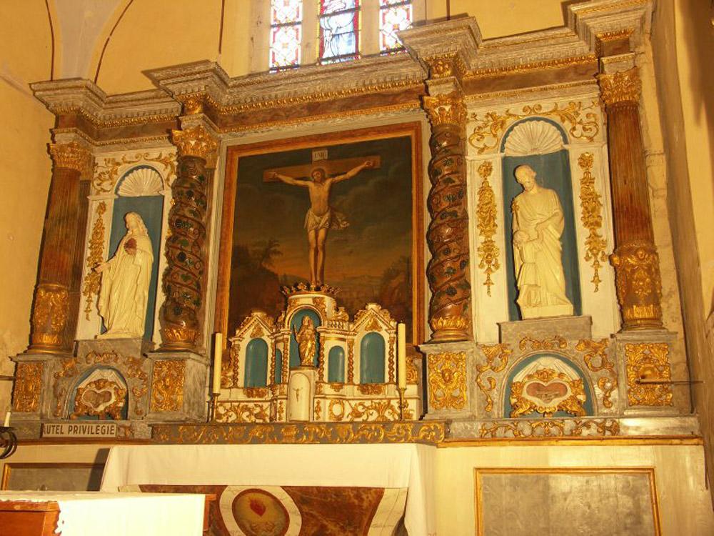 Retable de la chapelle Clavas