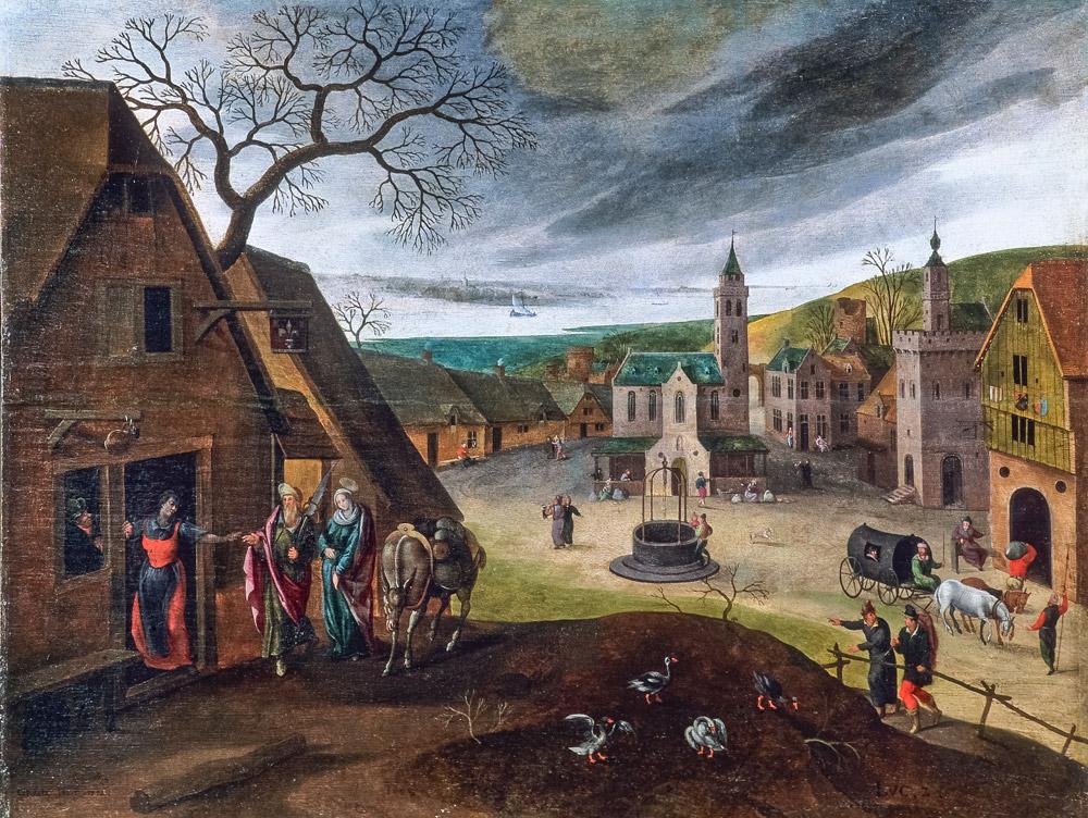 Visite de tableaux de peinture flamands