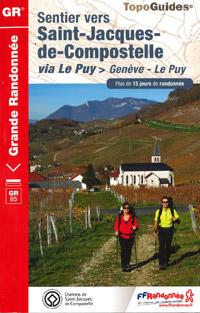 GR 65, Le chemin de St Jacques de Compostelle Genève au Puy-en-Velay